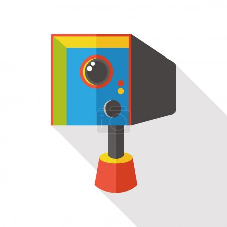 Tachometer camera flat icon icon element