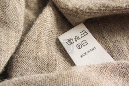Photo pour Présentée en Italie laine de couleur - image libre de droit