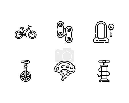 Illustration for Bike shop vector illustration - Royalty Free Image