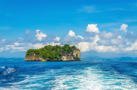 Peaceful exotic island with luxury hotels Thailand