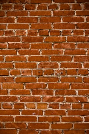 Photo for Abstract close-up brick wall background - Royalty Free Image