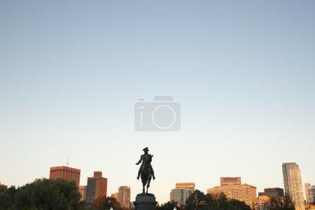 Джордж Вашингтон Памятник Бостон