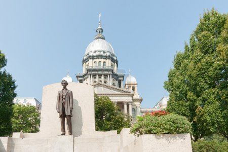 Springfield Illinois USA statue of