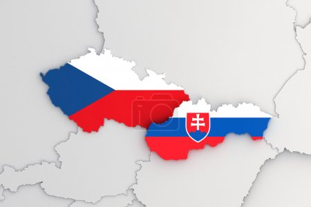Slovak republic and Czech republic