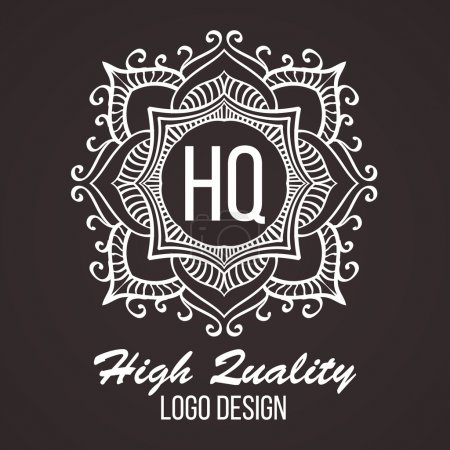 Monogram design elements, graceful template. Calligraphic elegant line art logo design. Business sign for Royalty, Boutique, Cafe, Hotel, Heraldic, Jewelry, Wine. Vector illustration