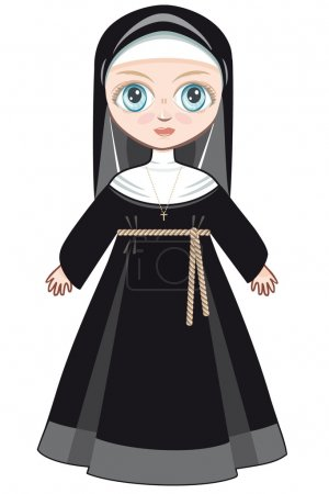Doll in a monastic dress