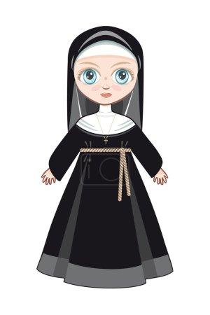 Doll in a monastic dress
