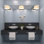 Modernen Badezimmer Interieur