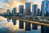 "Постер, картина, фотообои ""Sao Paulo Skyline"""