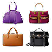 Four fashion bags