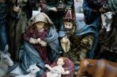 Christmas figurine nativity scene