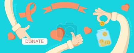 Giving hands charities online fund raising horizon...