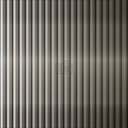 Abstract  background  fence of metal bars.