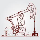 Oil pumps Oil industry equipment Outline drawing