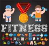 Logos, Gym, fitness, sport