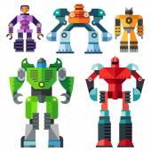 Modern transformer robots