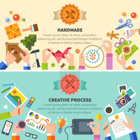 Handmade and creative process