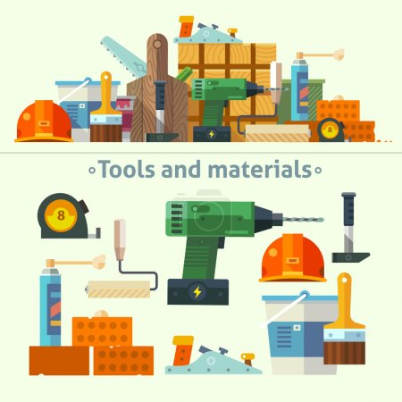 Tools and materials for the repair
