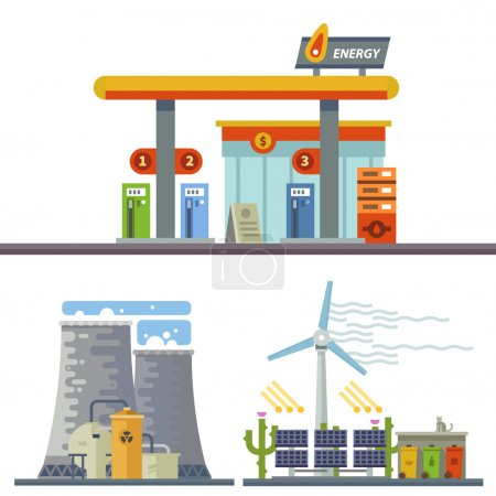 Energy and Gas Station