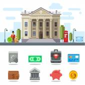 Symbols of Business and Finance
