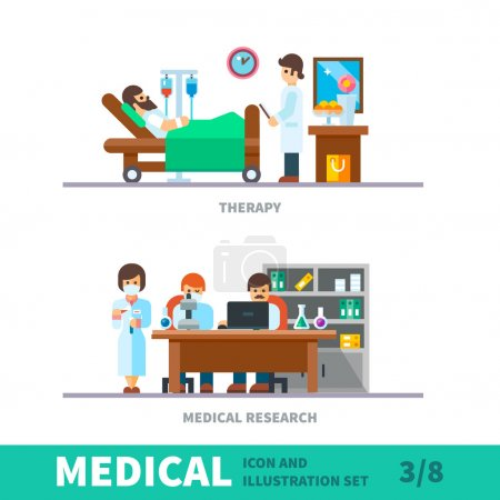 Medical illustration of the recovery after fracture clinic