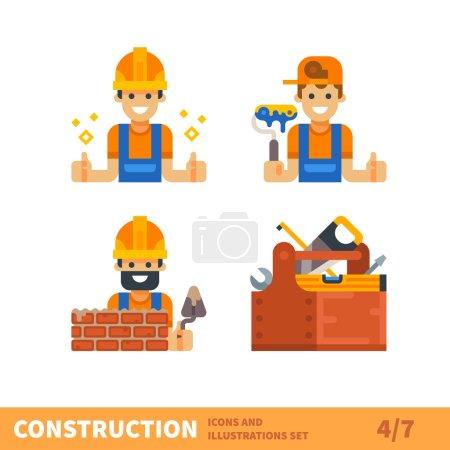 Work for builder or foreman