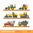 Постер, плакат: Transport and tool for construction
