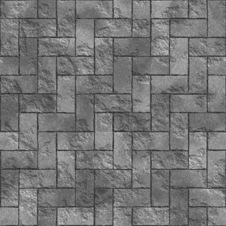 Seamless texture of gray tile. A high resolution.