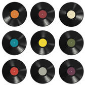 Vinyl records pattern