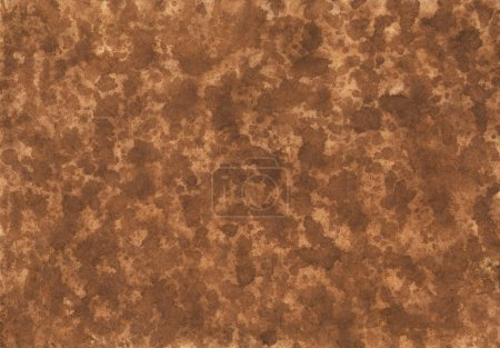 Dark brown splash watercolor background