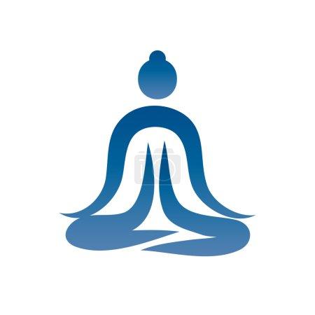 Yoga Silhouette Asana Vector