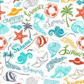 Bright seamless summer pattern