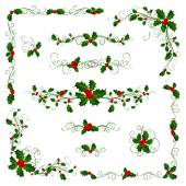 Christmas page dividers and decorations