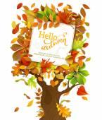 Hello Autumn Background