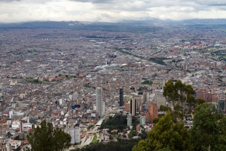 view of Bogota, Colombia
