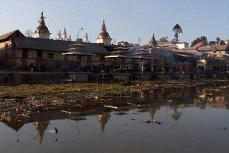 Pashupatinath, Burning Ghats view, Kathmandu...