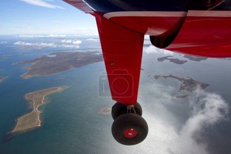 Photo for Flight over Falkland Islands - Royalty Free Image