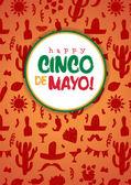 Happy cinco de mayo poster