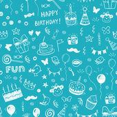 Všechno nejlepší k narozeninám bezešvé pozadí