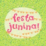 Brazil june party  illustration....