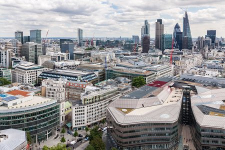 London skyline from St Paul's Cathedral