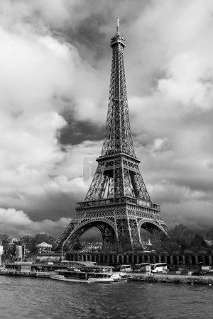 Photo for Eiffel Tower in Paris, France. - Royalty Free Image