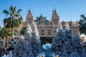 Casino in Monte Carlo at Christmas