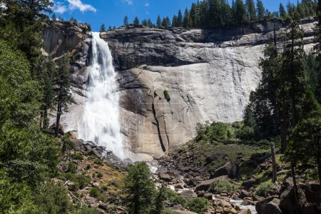Nevada Fall in Yosemite National Park, California, USA.