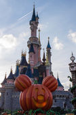 Disneyland Paris during Halloween celebrations