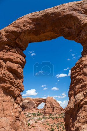 Turret Arch in Arches National Park, Utah, USA