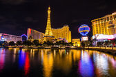 LAS VEGAS, NV - AUGUST 12: View of the Paris Las Vegas hotel and casino