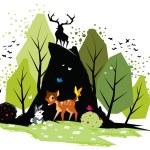 Постер, плакат: bambi