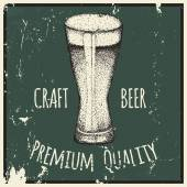Beer Drawing by hand