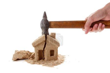 Seizure of property. Harsh laws. Help attorney. Symbol.